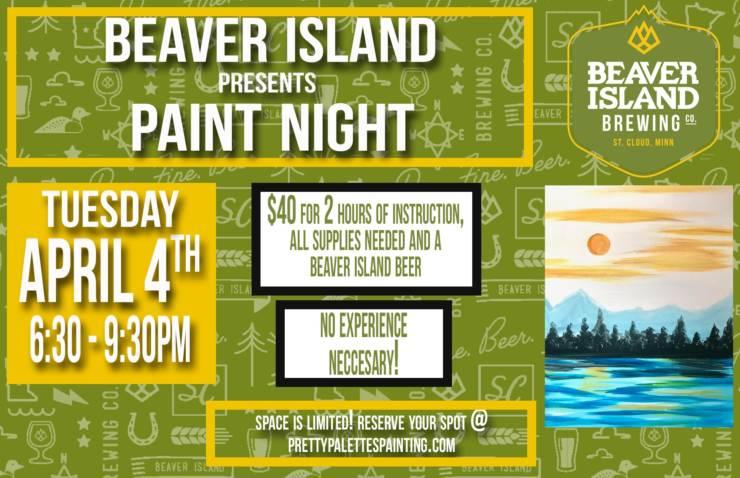 Beaver Island Paint Night