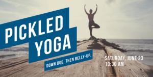Pickled Yoga @ Beaver Island Taproom