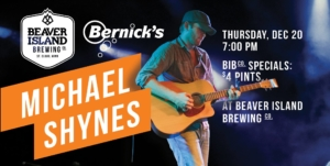 Michael Shynes Concert @ Beaver Island Taproom | St. Cloud | Minnesota | United States