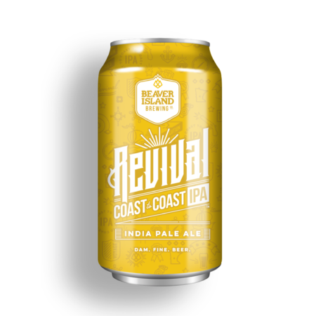 Beaver Island Brewing Revival Coast to Coast IPA small