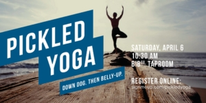 Pickled Yoga - April 6 @ Beaver Island Taproom | St. Cloud | Minnesota | United States