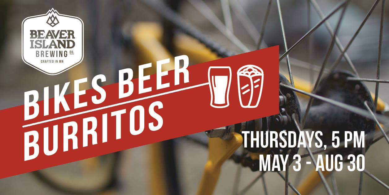 Beaver Island Brewing Bikes Beer Burritos 2018