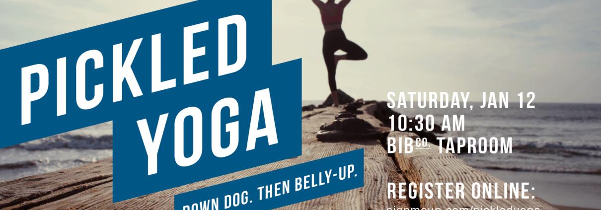 Pickled Yoga January 12