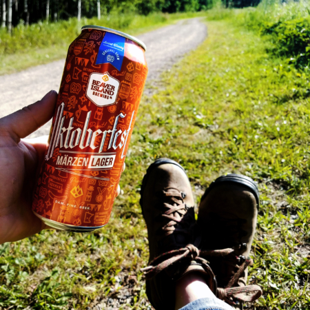 Beaver Island Brewing Oktoberfest hiking