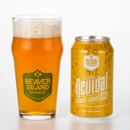 Beaver Island Brewing Revival glass