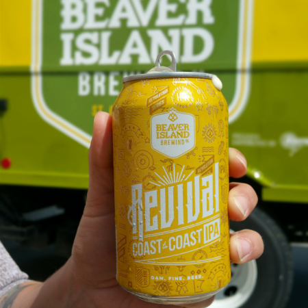 Beaver Island Brewing Revival truck