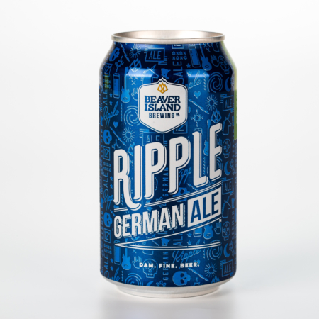 Beaver Island Brewing Ripple can