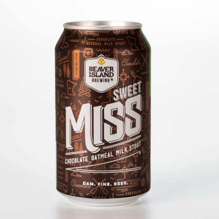 Beaver Island Brewing Sweet Miss can
