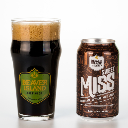 Beaver Island Brewing Sweet Miss glass