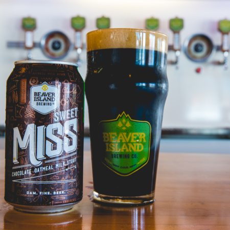 Beaver Island Brewing Sweet Miss glass taproom