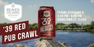 '39 Red Pub Crawl @ Downtown St Cloud