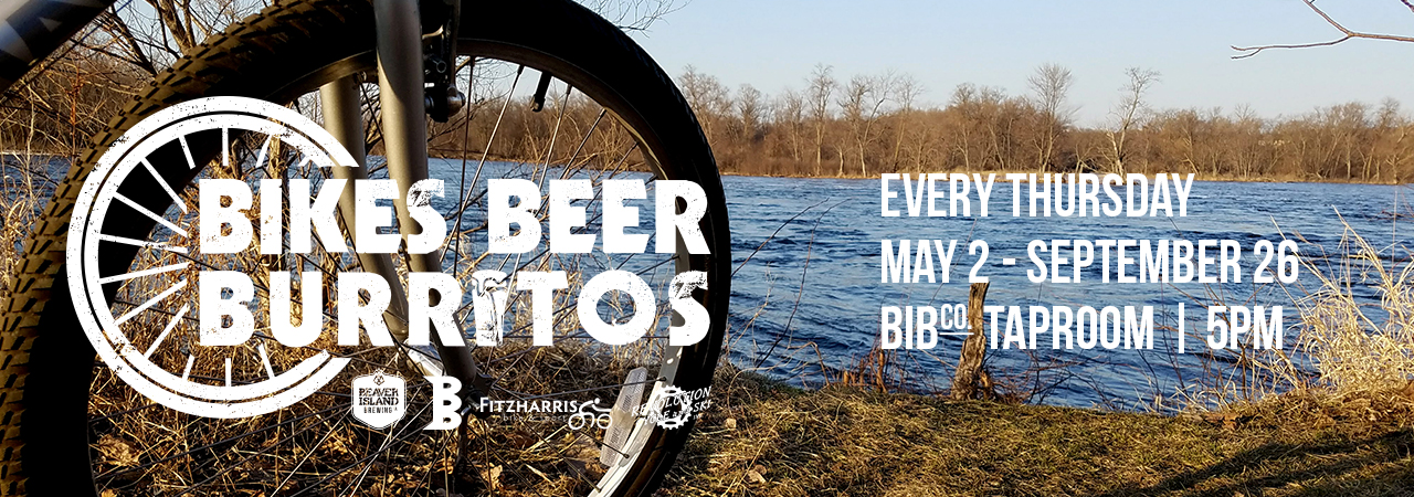 Beaver Island Brewing Bikes Beer Burritos slider
