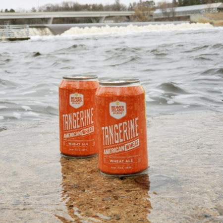 Beaver Island Brewing Tangerine Wheat dam