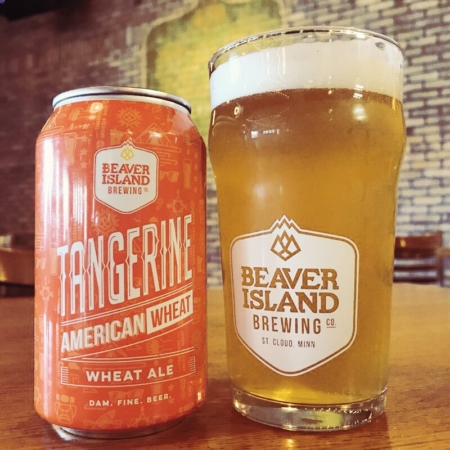 Beaver Island Brewing Tangerine Wheat taproom