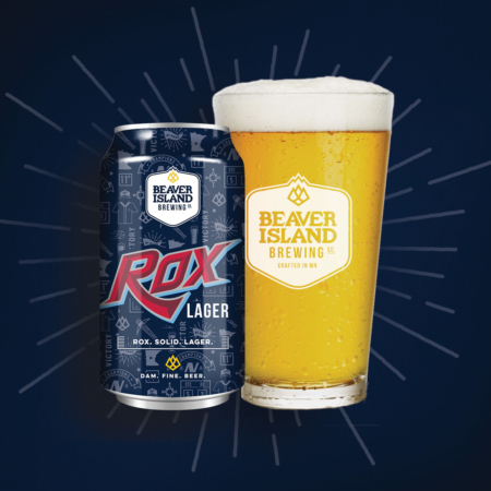 Beaver Island Brewing Rox Lager can