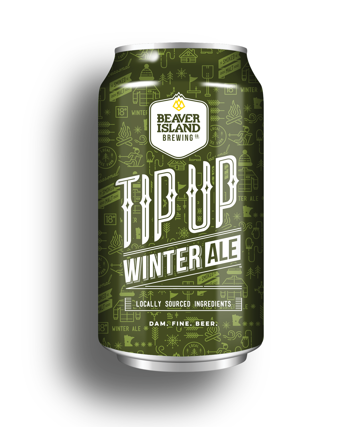 Beaver Island Brewing Tip Up Winter Ale