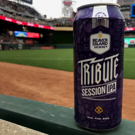 Beaver Island Brewing Tribute at Twins game