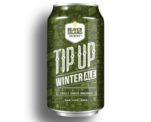 Beaver Island Brewing Tip Up Winter Ale small
