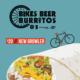 $20 Bikes Beer Burritos price // new growler